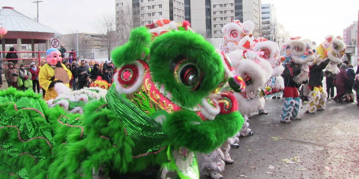 McCauley Community League - Chinese New Year parade