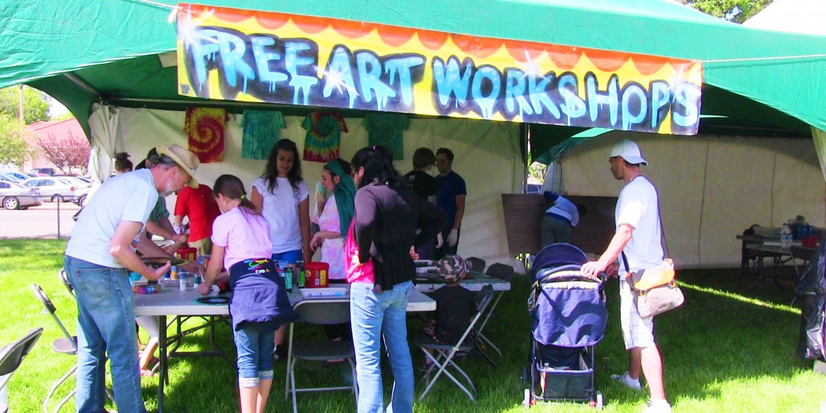 McCauley Community League - FreeArt Workshops in the park