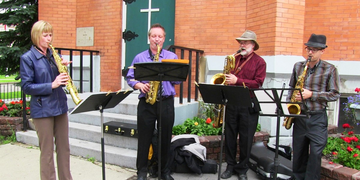 McCauley Community League - Brass Band Busking