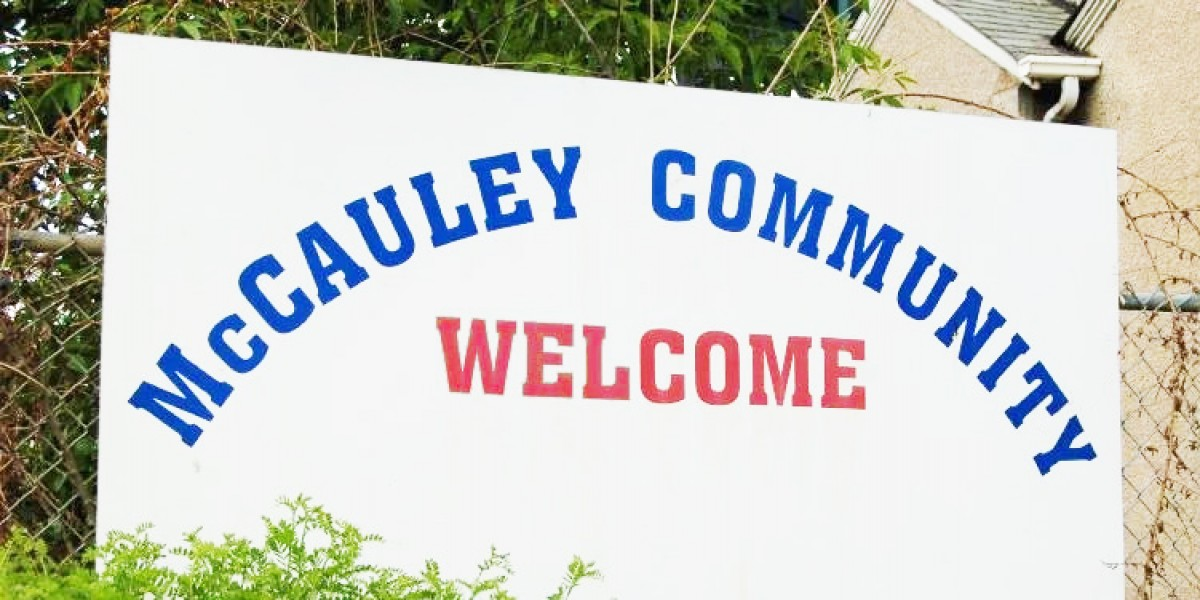 McCauley Community Welcome Sign