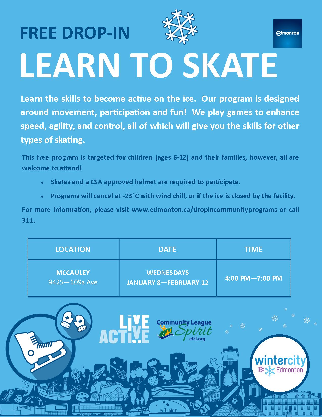 Drop In Learn to Skate